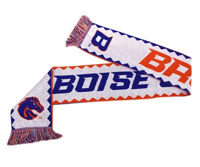 BOISE STATE SCARF - Fiesta - Ruffneck Scarves - 2