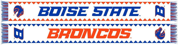 BOISE STATE SCARF - Fiesta - Ruffneck Scarves - 1