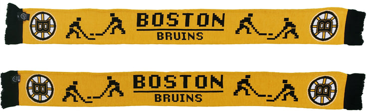 BOSTON BRUINS SCARF - 8-Bit