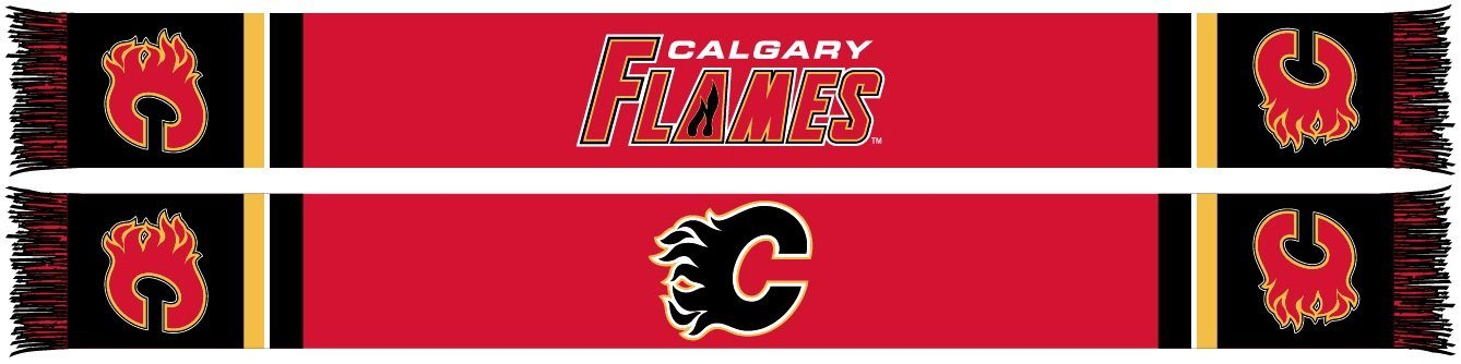 CALGARY FLAMES SCARF - Home Jersey