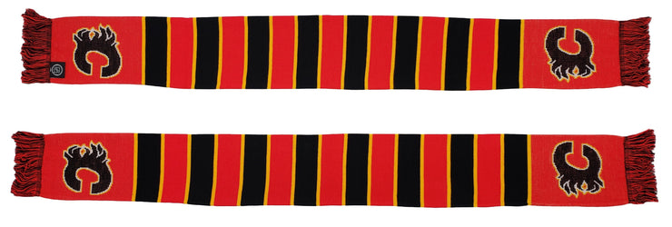 CALGARY FLAMES SCARF - Traditional Bar Scarf