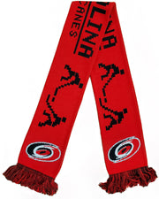 CAROLINA HURRICANES SCARF - 8-Bit