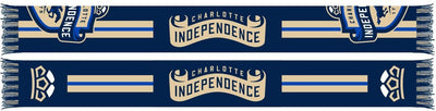 Charlotte Independence FC Scarf - Racing Stripe (Summer Scarf)