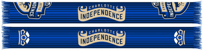 Charlotte Independence FC Scarf - Split Crest (HD Woven)