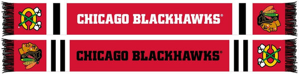 CHICAGO BLACKHAWKS SCARF - Home Jersey