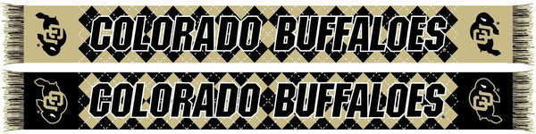 COLORADO BUFFALOES SCARF - Argyle - Ruffneck Scarves - 1