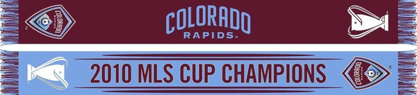 COLORADO RAPIDS SCARF - MLS CUP Champions Edition **SALE** - Ruffneck Scarves