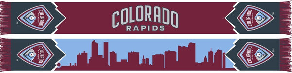 COLORADO RAPIDS SCARF - City Skyline