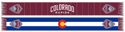 COLORADO RAPIDS SCARF - Colorado flag