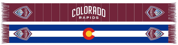 COLORADO RAPIDS SCARF - 2020 Colorado flag