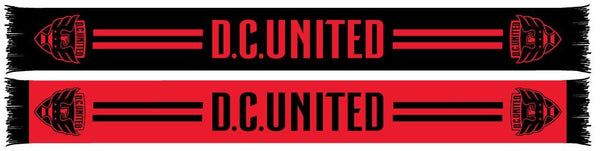 DC UNITED SCARF - 2020 Black n' Red