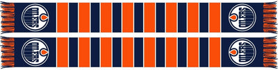 EDMONTON OILERS SCARF - Traditional Bar Scarf
