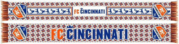 FC CINCINNATI SCARF - Ugly Sweater Scarf