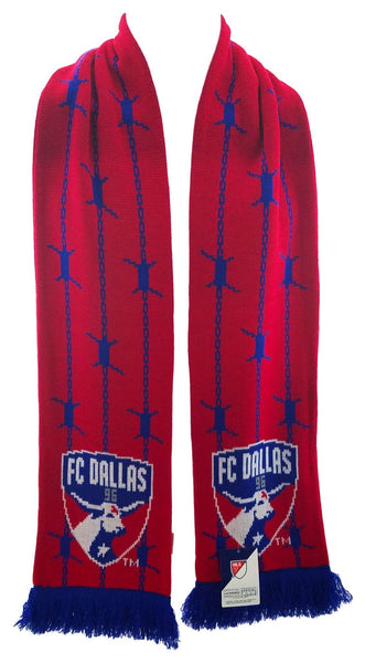 FC DALLAS SCARF - Barb Wire