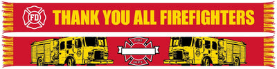 FIREFIGHTER APPRECIATION WRITABLE SCARF (Summer Scarf)