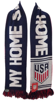 US SOCCER SCARF - USA God Bless America