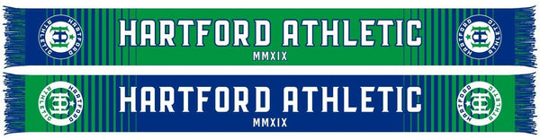 Hartford Athletic Scarf -Split Bar (HD Knit)