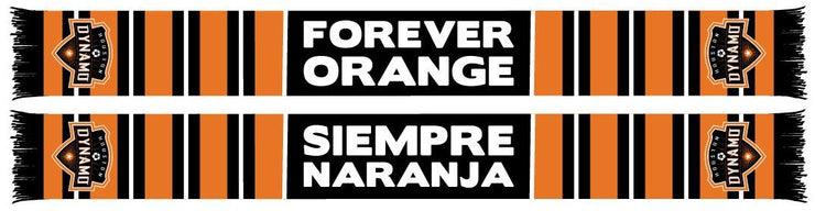 HOUSTON DYNAMO SCARF - Forever Orange