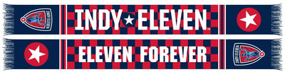 Indy Eleven Scarf - Checkered (HD Knit)