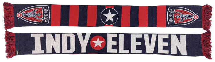 Indy Eleven Scarf - Bar (HD Knit)