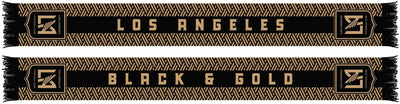 LAFC SCARF - Black and Gold