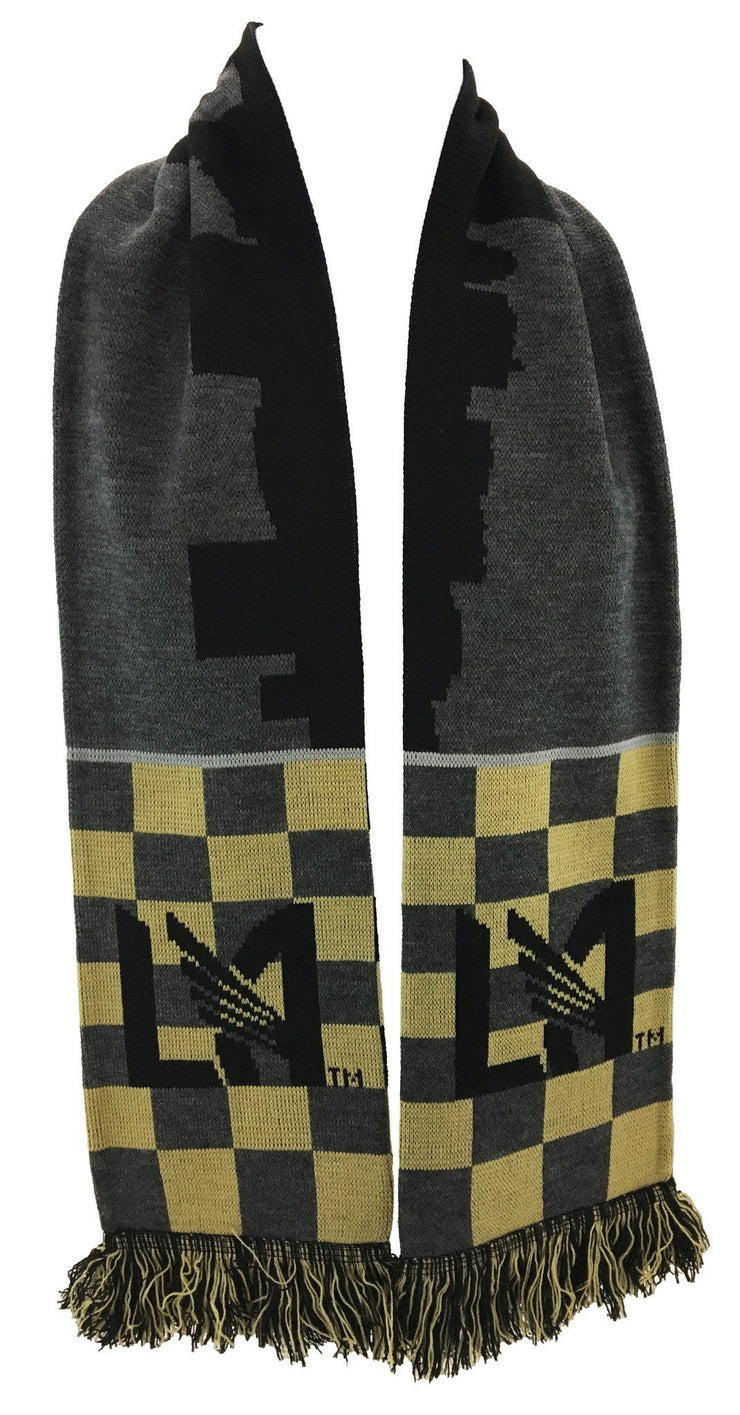 LAFC SCARF - Checkered Skyline