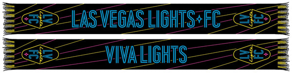 Las Vegas Lights FC Scarf -Blackout (Summer Scarf)
