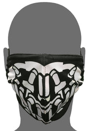 "Polyester Face Mask - Black ""Bane"""
