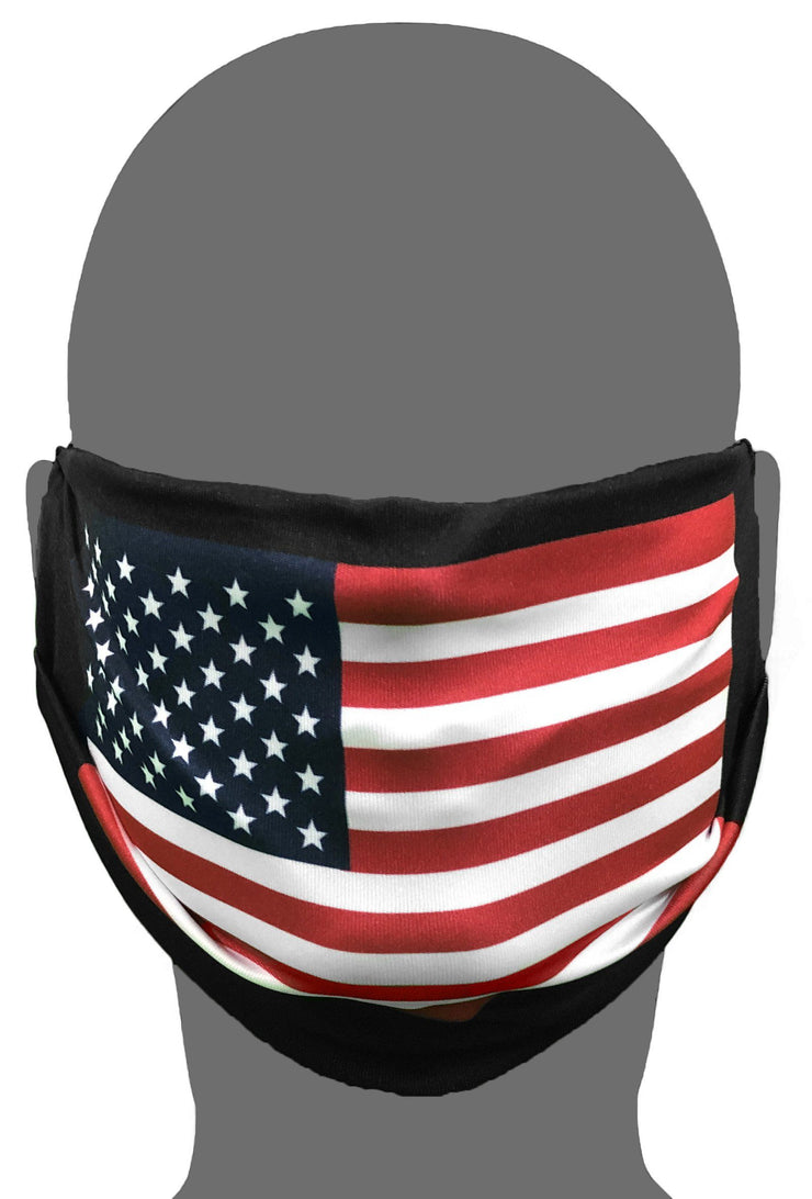 Polyester Face Mask - American Flag