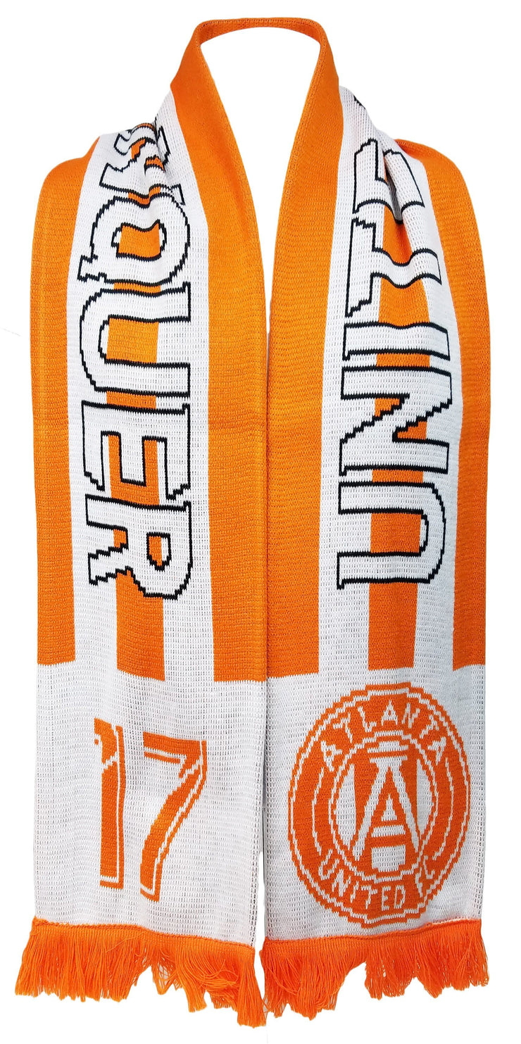 Atlanta United scarf peach photo
