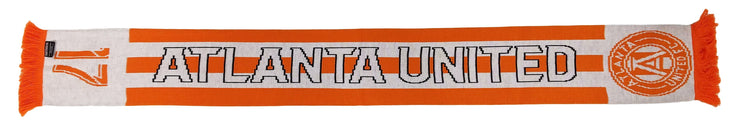Atlanta United peach 17 scarf photo