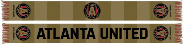 ATLANTA UNITED SCARF - Gold Bars (Summer Scarf)