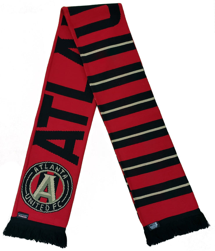 Atlanta United scarf stripes photo