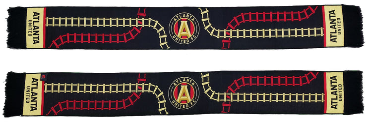 atlanta united scarf tracks photo