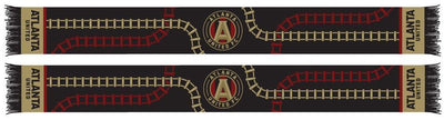 Atlanta United tracks scarf