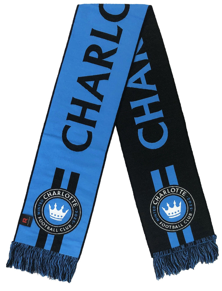 Charlotte FC announcement scarf