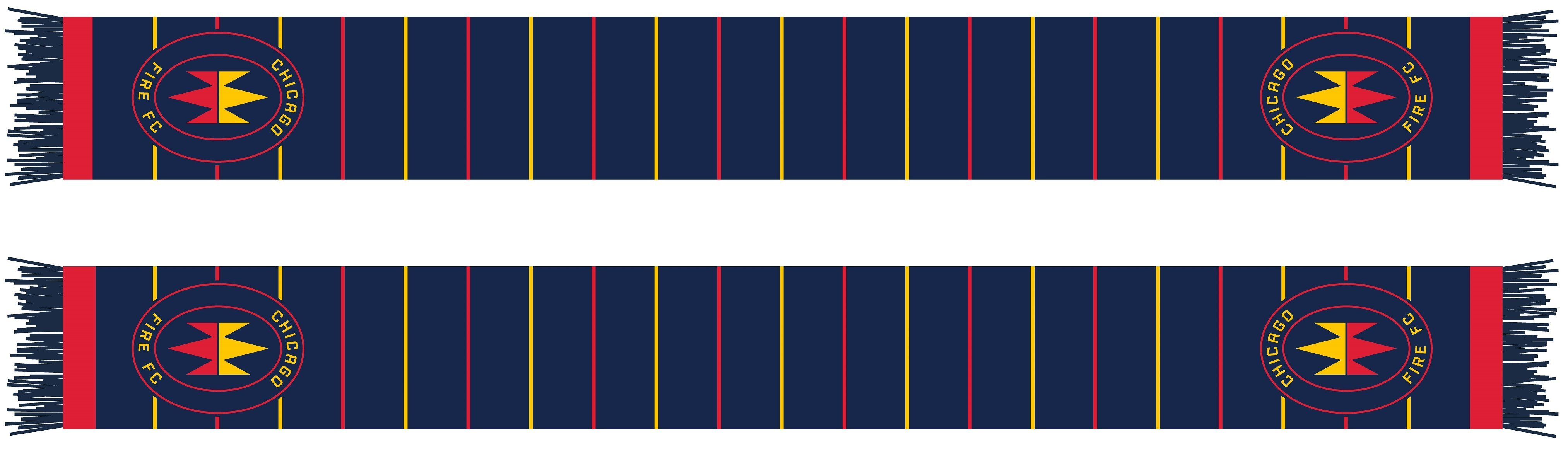 CHICAGO FIRE SCARF - 2020 Pinstripes