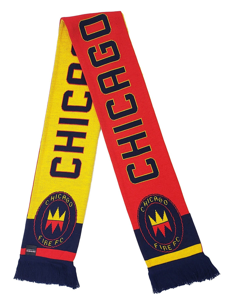 CHICAGO FIRE SCARF - 2020 Red & Gold