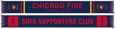 Chicago Fire pocket scarf
