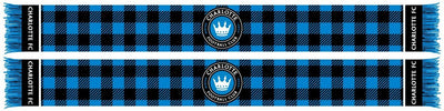 Charlotte FC Scarf Flannel pattern
