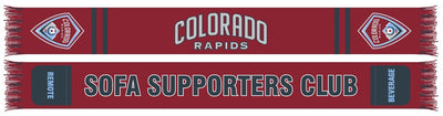Colorado Rapids Sofa supporters club pocket scarf