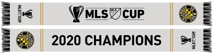 Columbus Crew 2020 MLS Cup Champions On The Field Scarf