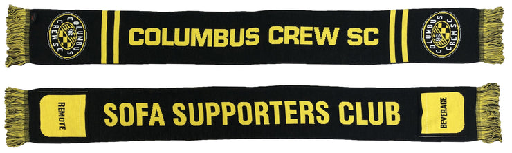 Columbus Crew Sofa supporter scarf