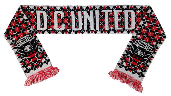 DC UNITED SCARF - 2018 Argyle