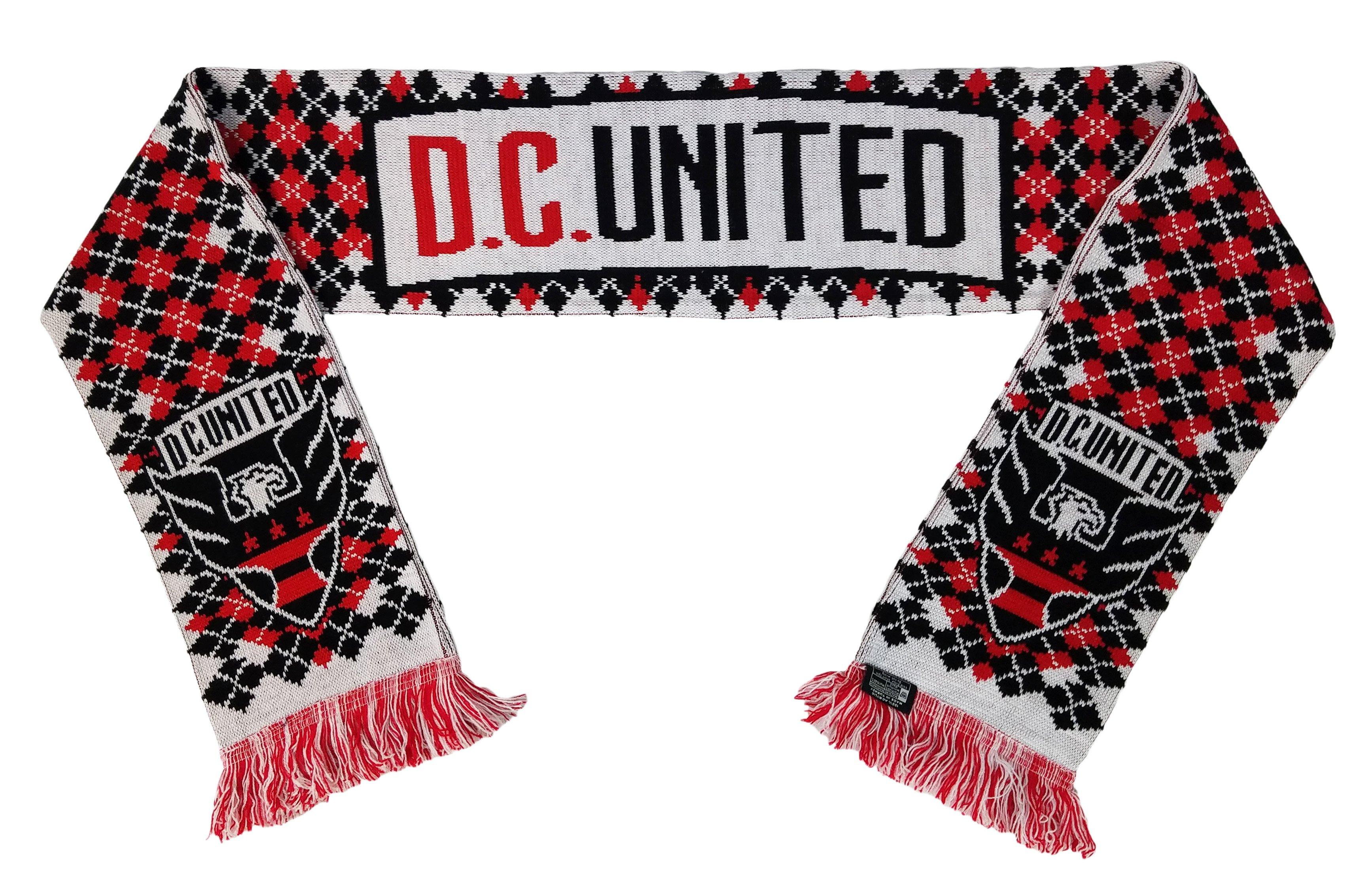 DC UNITED SCARF - Argyle