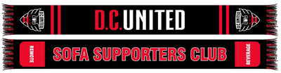 DC United pocket scarf
