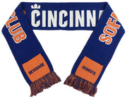 FC Cincinnati march to the couch pocket scarf