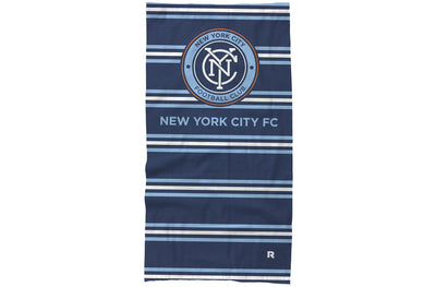 NYCFC neck gaiter bars design
