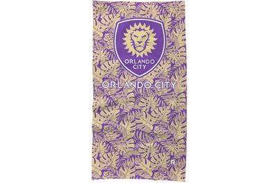 Orlando City Neck Gaiter Jungle design