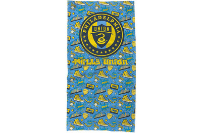 Philadelphia Union neck gaiter retro pattern